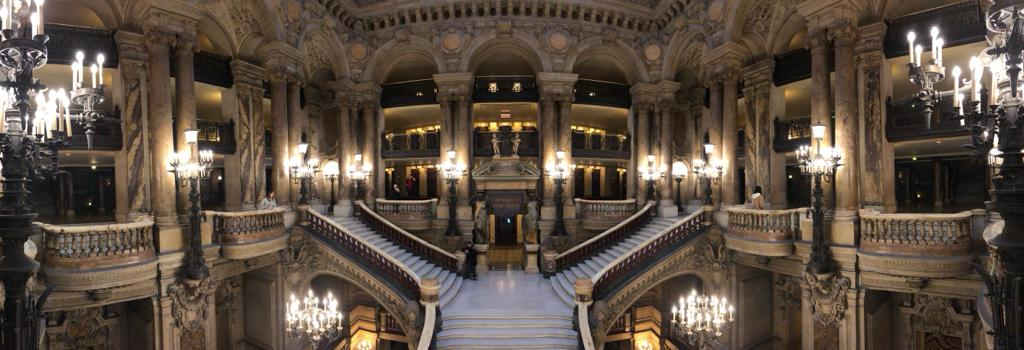 The Grand Staircase of the Garnier Opera House