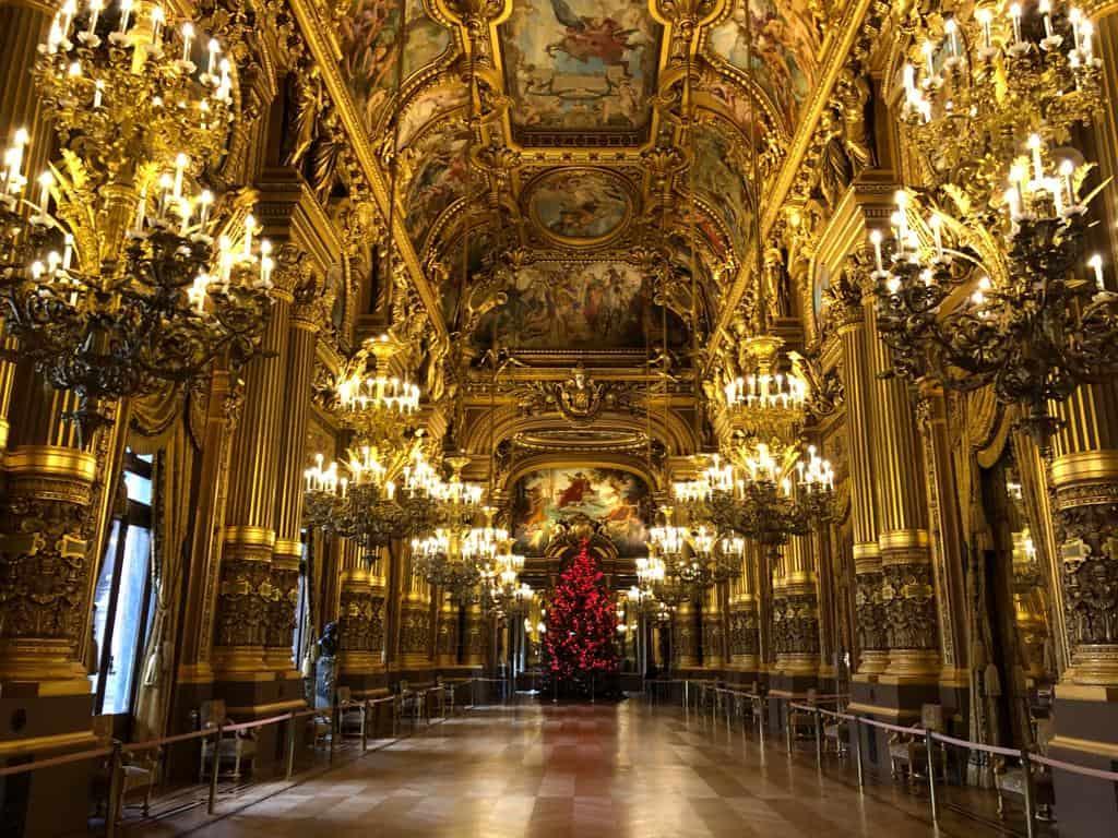 The Grand Foyer of the Garnier Opera House