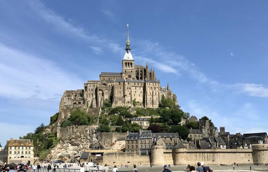 A view of Mont St. Michel this year