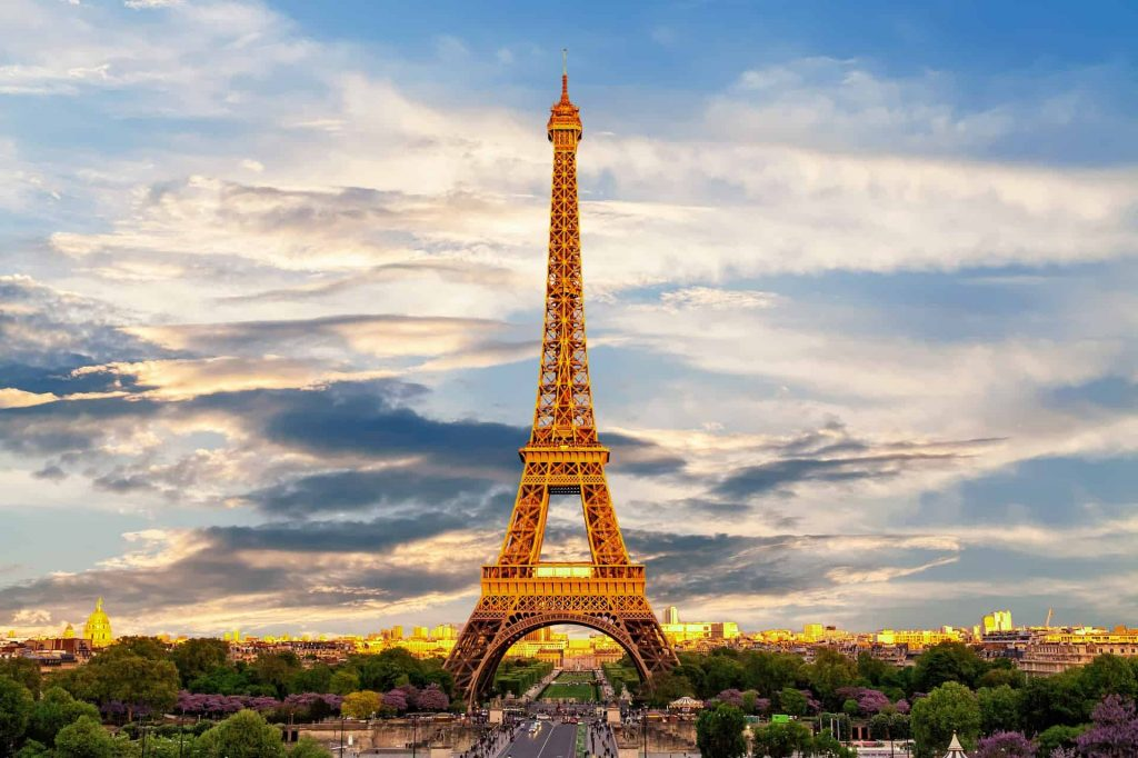 A picture of the Eiffel Tower - one of the many reasons to visit Paris