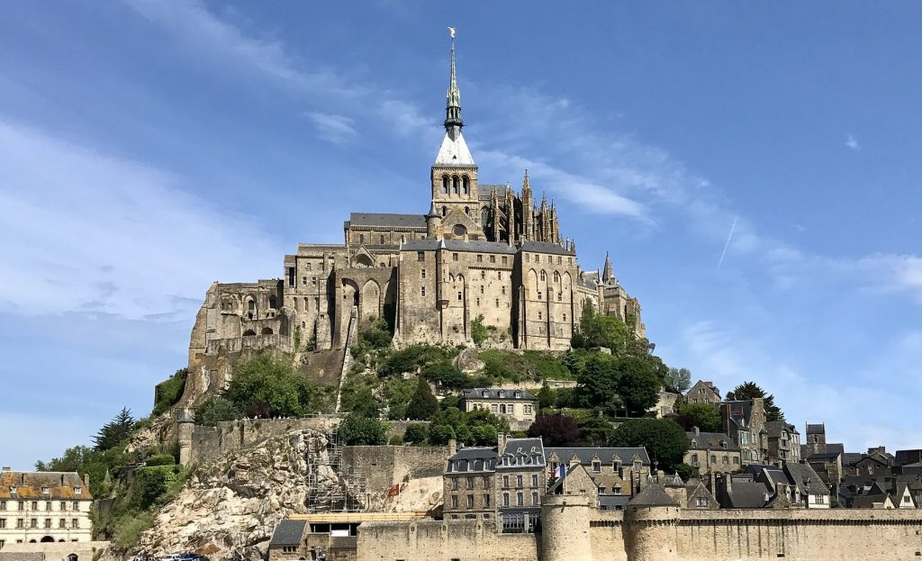 Photo of Mont St. Michel, one of my top places to visit outside Paris