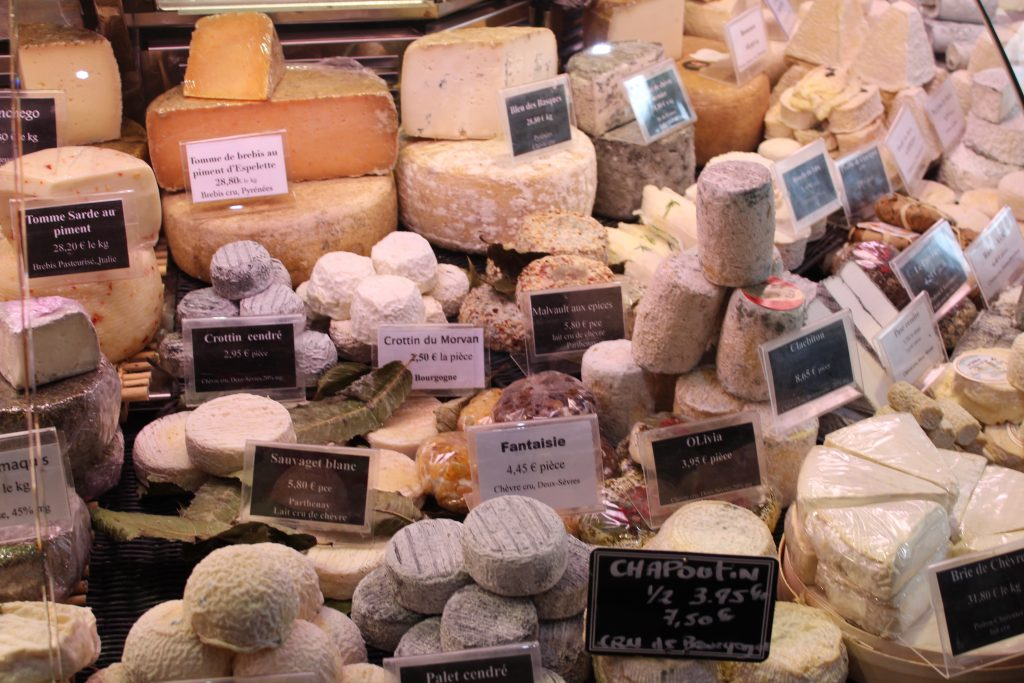 Photo of the cheese shop visited on the Memories France food tour in Paris.