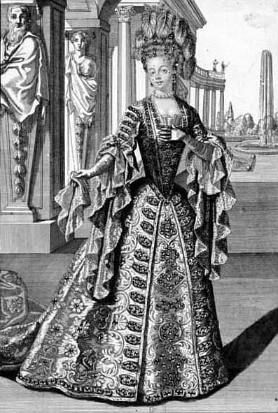 A portrait of La Maupin, Julie d'Aubigny as an opera star