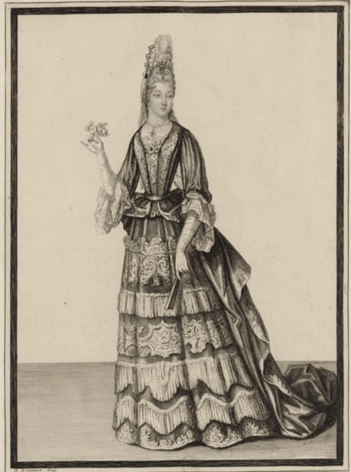A portrait of the Marquise de Florensac, the final lover of La Maupin