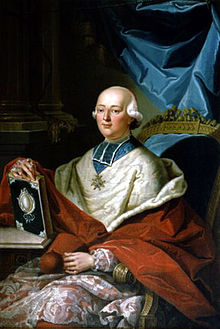A painting of the Cardinal de Rohan