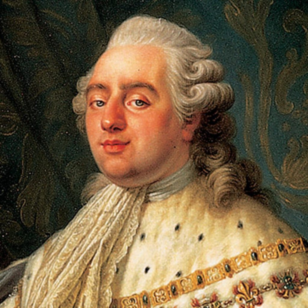 A painting of King Louis XVI