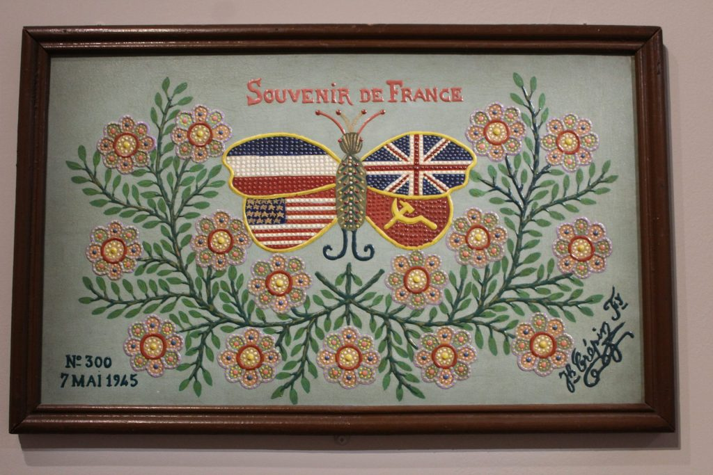 A photo of Crepin's painting #300 at the Musée Maillol, bearing the date May 7th, 1945.