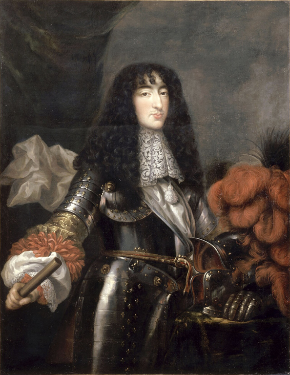 A portrait of Philippe I, Duke of Orléans