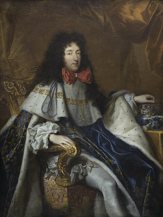 A formal portrait of Philippe I, Duke of Orléans
